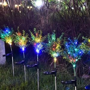 Image 1 - Solar Lamp Zonlicht Led Solar Licht Voor Tuin Decoratie Gazon Verlichting/Kerstboom Lamp/Outdoor Waterdichte Solar Tuin licht