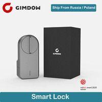 New Arrival GIMDOW App Security Electronic Door Lock APP WIFI Smart Remote Control Lock Digital Code Keypad Deadbolt For Home