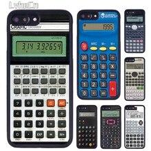 LvheCn Ретро своеобразный Забавный Калькулятор Чехол для телефона для iPhone 5 6 S 7 8 Plus 11 Pro X XR XS Max samsung galaxy S6 S7 S8 S9 S10
