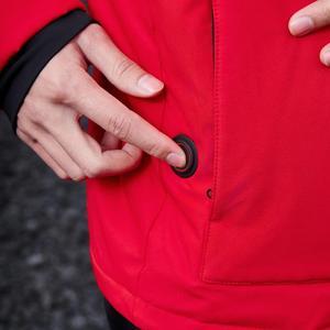 Image 5 - Youpin גרפן אינטליגנטי בקרת טמפרטורת חימום כותנה בגדים USB חשמלי מחומם מעיל גברים חורף חם תרמית מעיל