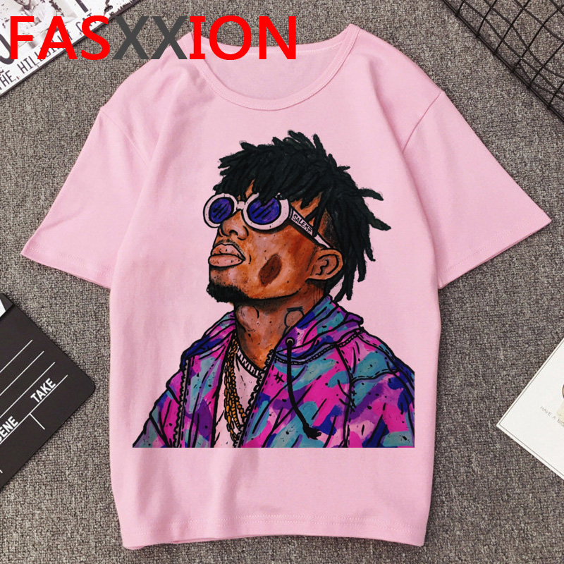 Playboi Carti T Shirt Men Summer Top Hip Hop Rapper T-shirt Funny Die Lit Graphic Tees Harajuku Fashion Oversized Tshirt Male
