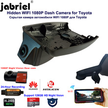 Dvr-Camera Video-Recorder Corolla Toyota Dual-Lens WIFI Night-Vision 24H Car for Chr