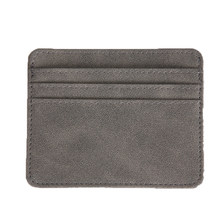 Nowy szczupły pojemnik na kartę bankową solidna karta kredytowa identyfikatory portmonetka Case Bag portfel Organizer kobiety mężczyźni cienki portfel na wizytówki