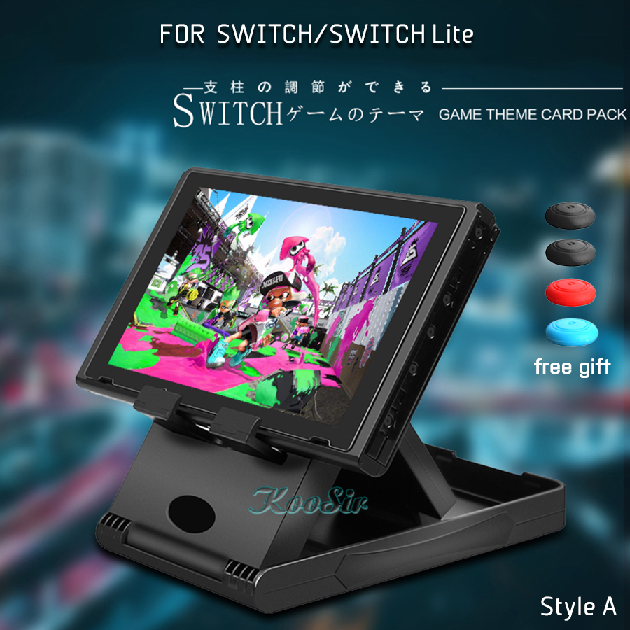 Nitendo Nintend Switch Accessories Console Storage Adjustable Portable Play Stand Nintendoswitch Lite Case Bracket Holder(China)