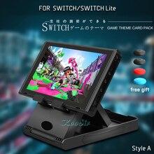 Nitendo 닌텐도 스위치 액세서리 콘솔 스토리지 조절 휴대용 플레이 스탠드 Nintendoswitch 라이트 케이스 브래킷 홀더