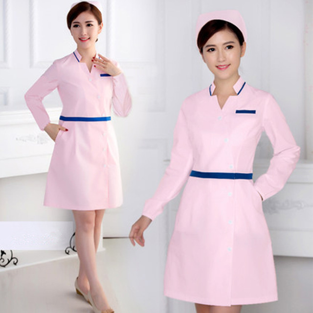 Medical Uniforms Nurse Uniforms Hospital Medical Surgery Dental Clinic Beauty Salon Pharmacy Women Work Wear Lab Coat