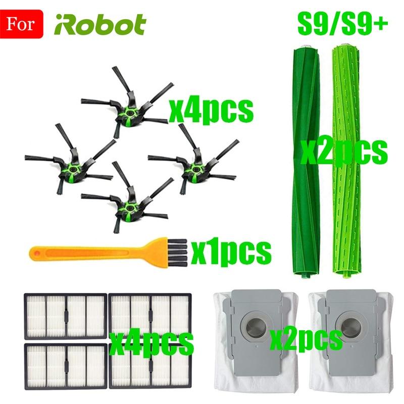 Pièces de rechange pour aspirateur Robot Robot connecté par Wi-Fi, Compatible avec Robot iRobot Roomba s9 (9150) s9 + s9 Plus (9550) série S
