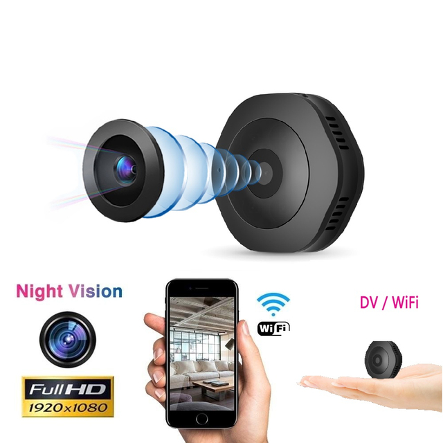 H6 1080P מיני מצלמה Wifi ספורט אבטחת בית מצלמה ראיית לילה אלחוטי מעקבים מצלמה Motion Dvr מיקרו מצלמה קטנה