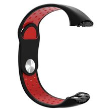 Two-color Soft Silicone Watchband Wrist Strap for Samsung Galaxy Fit R370 Watch