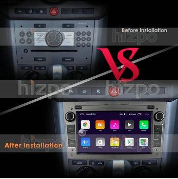 2G 64G Android 10 2 DIN CAR GPS for opel Vauxhall Astra H G J Vectra Antara Zafira Corsa Vivaro Meriva Veda NO DVD PLAYER