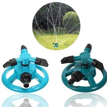 Garden Lawn Sprinkler 360 degree Automatic Watering Grass Rotating Irrigator for Teeth Nooze irrigation System