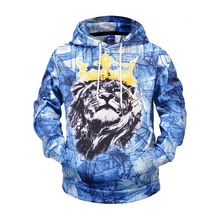 Funny Lion King 3d Print Hoodies Sweatshirts Harajuku Hip Hop Casual Pullover Hooded Streetwear 2019 Men Fashion Tops