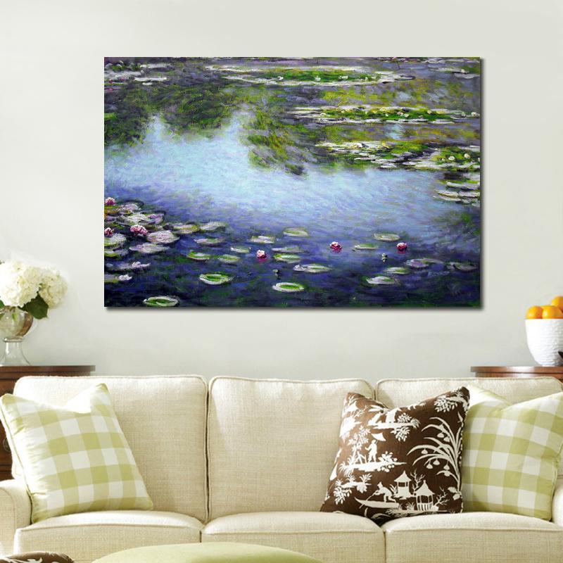 Claude Monet Peinture Reproduction C/él/èbre Artiste Peinture /À lhuile pour La Maison Salon D/écoration Cadeau Impression sur Toile Wall Art Artwork