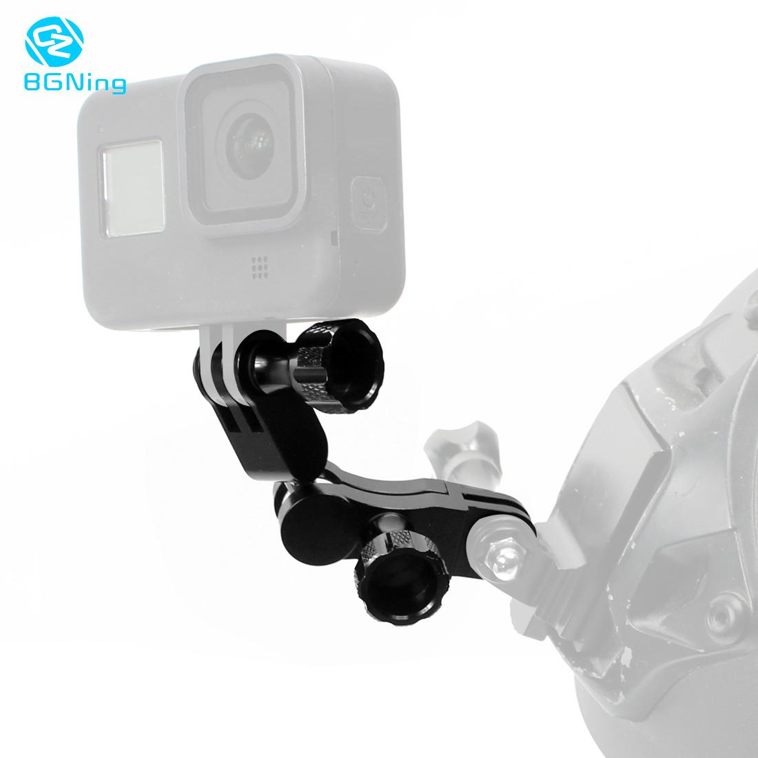 BGNing Aluminium 360 Degree Rotating Joint Adapter Mount for Gopro Hero 8 7 6 5 Session XiaoYi SJCAM SJ4000 Action Cam Accessory