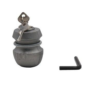 Piezas de remolque Universal enganche Bloqueo de bola Universal remolque caravana dispositivo antirrobo enganche de enganche