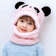 Зимняя пушистая плюшевая Балаклава для взрослых и детей шапка
