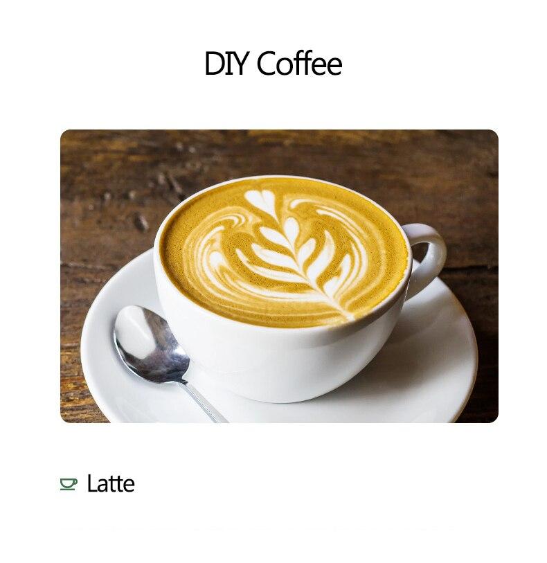 maker para cappuccino latte aquecedor de leite quente