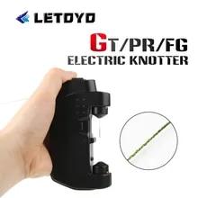 LETOYO Knotter 매듭 지원 GT/FG/PR 매듭 매듭 기계 낚시 보빈 와인 더 잉어 낚시 라인 도구 낚시 용품 장비