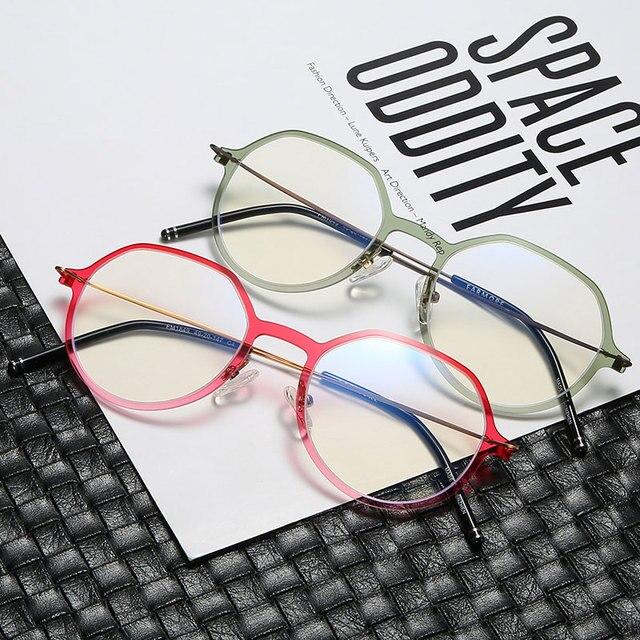 Reven Jate erkekler ve kadınlar Unisex moda optik gözlük gözlük yüksek kaliteli gözlük optik çerçeve gözlük 1849