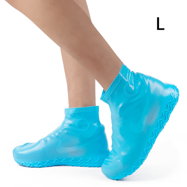 Details about  /Casual Waterproof Elastic Boot Covers Rain Outdoor New Non-slip Shoe Covers JA
