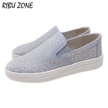 RIBU ZONE 2019 Clearance sale Genuine leather shoes Extra sample shoes women flat shoes for student/working