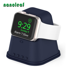 New Silicone Charging Stand Suitable for Apple Watch Series 1/2/3/4/5/6/SE for iWatch 38MM/42MM/40MM/44MM Desktop Stand