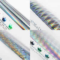 Funadaiko hot stamping foil for fishing lure Japan Holographic paper DIY fishing Accessory Holographic Laser 60cm*120m