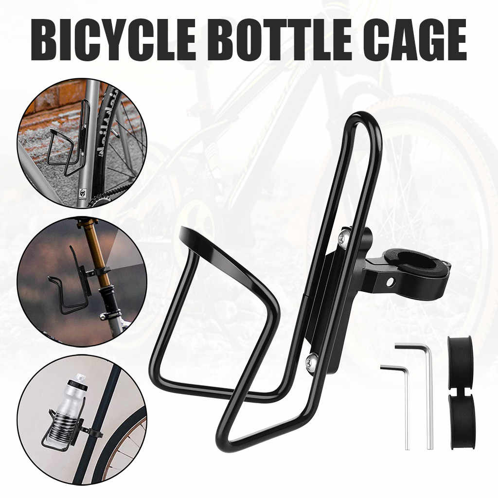 1x Mountain Bike Bottle Cages Rack Aluminum Bicycle Cycling Water Bottle Holder!