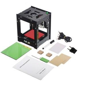 Image 5 - NEJE DK 8 KZ 1500/2000/3000mW מקצועי DIY שולחן העבודה מיני CNC לייזר חרט חותך חריטת עץ חיתוך מכונה נתב