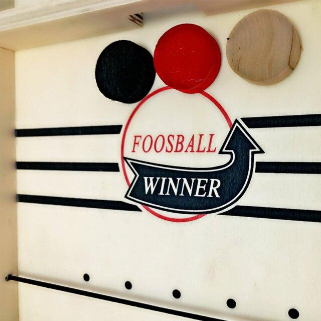 Foosball Winner Board Game Bounce Chess Eject Chess Parent-Child Interactive Chess Bounce Chess Ruffle Ball Desktop Hockey Toy 5