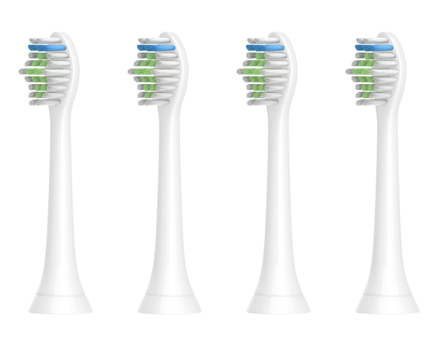 4Pcs/lot TOOTH BRUSH HEADS For PHILIPS Sonicare FlexCare Diamond Clean HX6100 HX6912 HX6930 HX6932 HX6932 HX6932 HX6933 HX6942