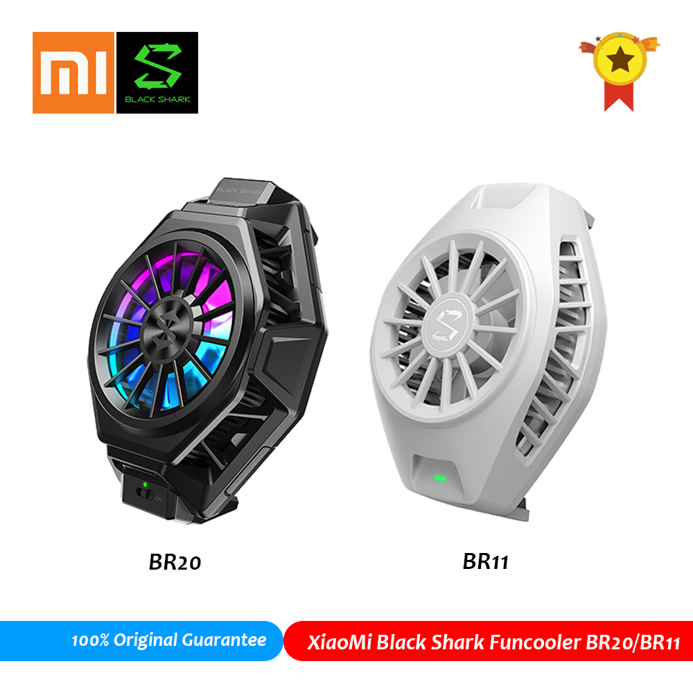 Xiaomi Black Shark Fun Cooler Pro Portable Adjustable Liquid Game Phone Fan Cooler for Android iOS S