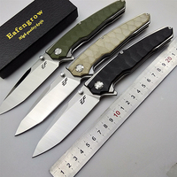 EF big folding knife D2 blade Survival hunting knives tactical camping pocket flipper G10 outdoor hiking kitchen hand EDC tools