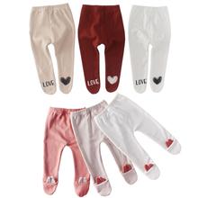 Noworodka Unisex spodnie dla niemowląt 0-3-6-12-18-24M spodnie bawełniane dla niemowląt niemowlę Boys Baby dziewczyny torba spodnie długie nawet skarpetki legginsy dziecięce tanie tanio wennikids Cartoon Dla dzieci skinny 8105 Pełnej długości COTTON Na co dzień Suknem Elastyczny pas