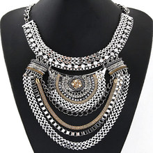 Special Offer European and American fashion trend metal chain exaggerated temperament Necklace