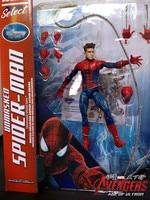 Marvel Select Superhero Anime Figure Amazing Spider Man Movie Spiderman Toy 18CM Ultra Action Figure Toys