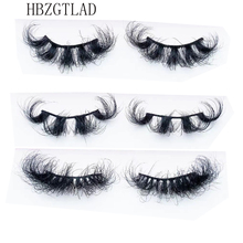 Mink-Eyelashes Messy Wholesale Makeup Fluffy Dramatic 1pair 3D 25mm Long NEW
