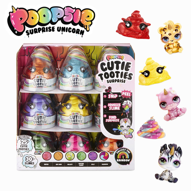 Poopsie Cutie Tooties Surprise Collectible Slime Mystery Character Diy Fidget Toys Birthday Dollls Toys for Girls