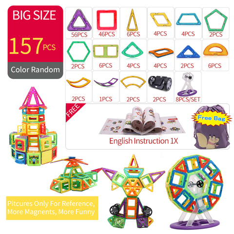 blocos magneticos brinquedos educativos para criancas