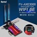 Wi-Fi, 6E FV-AXE3000 Bluetooth 5,2 Intel AX210 Беспроводной PCI Express адаптер 2,4 г/5G/6 ГГц 5374 Мбит/с 802.11AX сети Wi-Fi кард-Win10