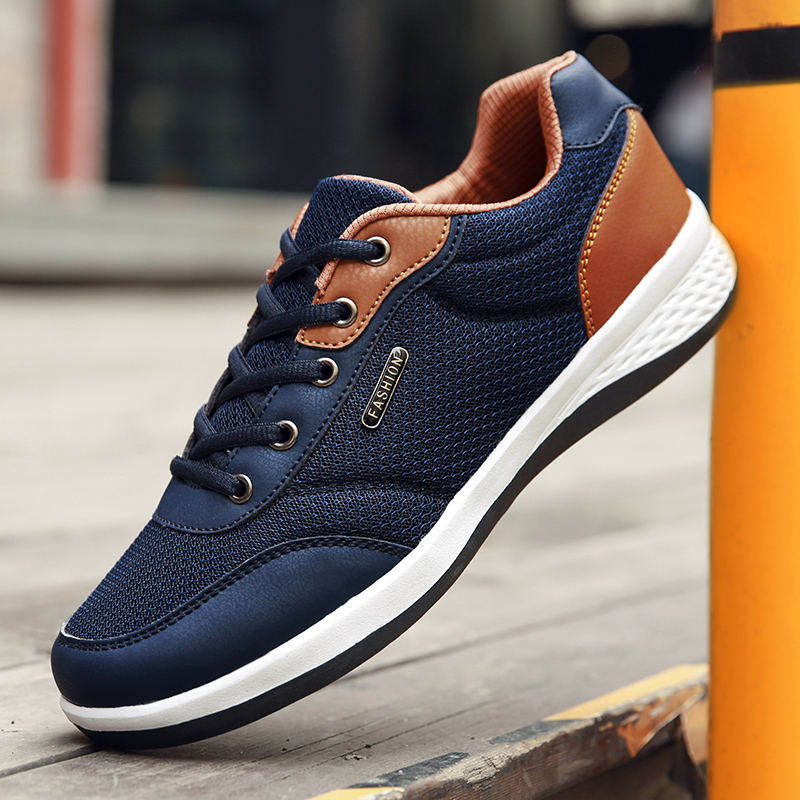Sneakers men classic shoes outdoor leisure shoes  children's throwing breathable wear flat shoes Zapatos Hombre|Skateboarding| |  - title=