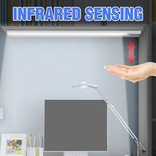 Светодиодный светильник рама под шкаф лампа usb ручная развертка