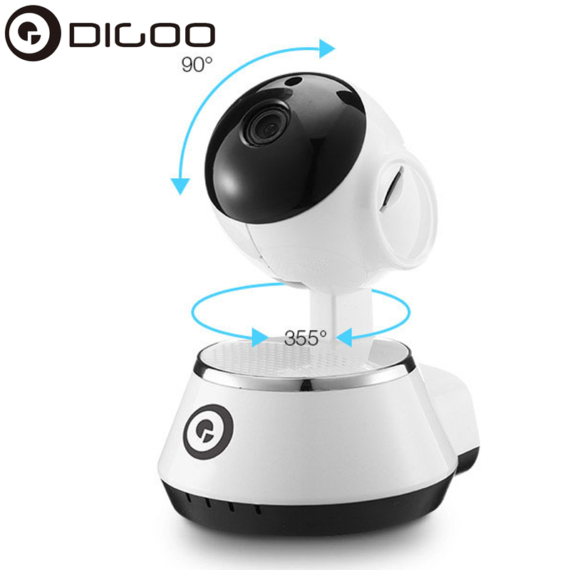 DIGOO BB M1 Home Security IP Camera 720P Wireless Smart WiFi Camera WI FI Audio Record Surveillance Baby Monitor HD CCTV Camera-in Surveillance Cameras from Security & Protection