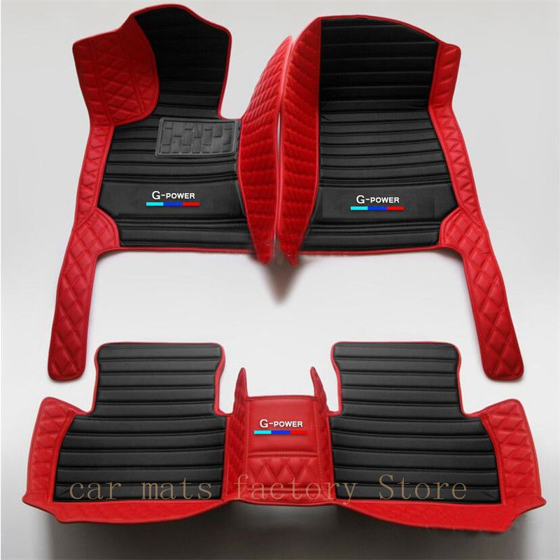 Two-color Custom for <font><b>BMW</b></font> 3 Series <font><b>e30</b></font> e36 e46 e90 Car Luxury <font><b>Floor</b></font> <font><b>Mat</b></font> All Weather Waterproof Car <font><b>Floor</b></font> <font><b>Mat</b></font> Car Accessories image