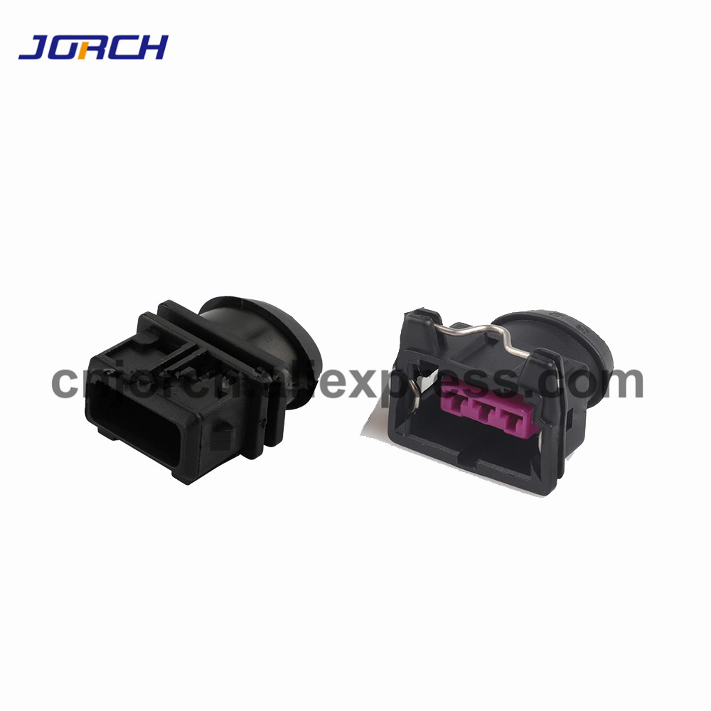 5 Sets 3 Pin Female Male Waterproof Automotive Boschs EV1 Electrical Wire Connector Plug