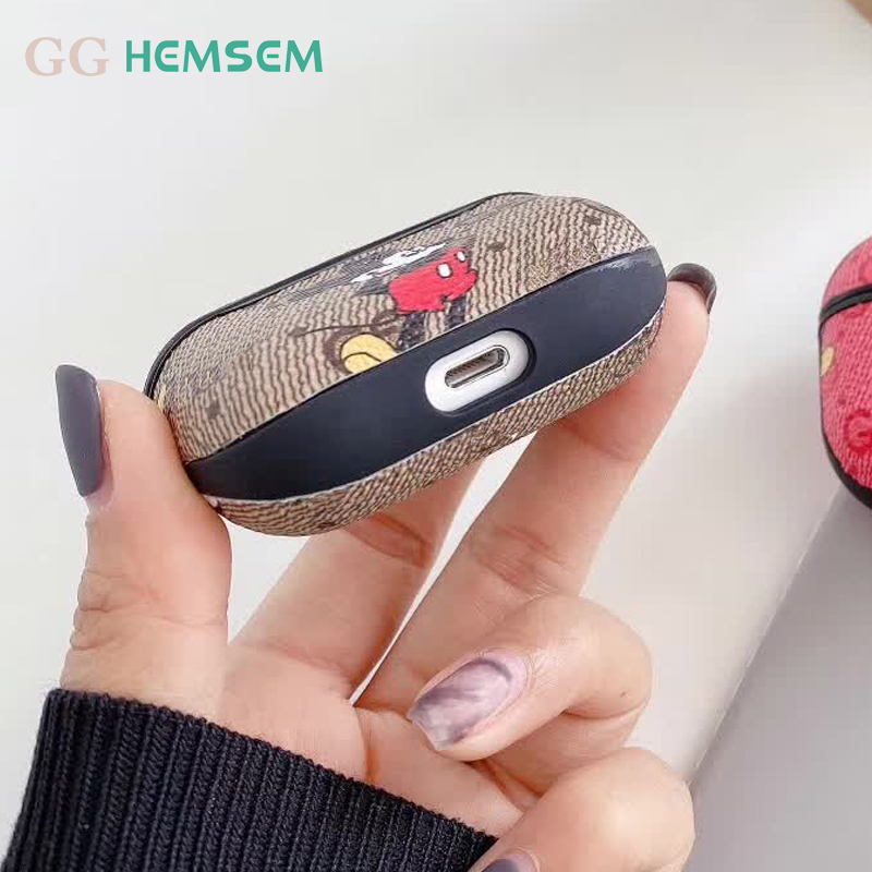 Cute Cartoon Mouse Earphone Case For AirPods 1 Air Pods2 for AirPods 3 Cover Painting Process Phone Accessories Headphone Bag|Fitted Cases| - AliExpress