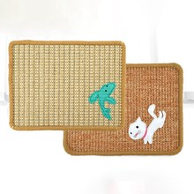Natural Sisal Felt Cat Scratching Mat Durable Scratcher Thick Pad for Cats Protecting Furniture Pet Product
