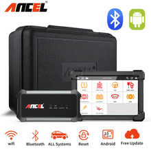 Ancel X7 Bluetooth Wifi Auto Diagnostische Tools Volledige System Gratis Update Android Tablet Epb Dpf Reset Code Reader