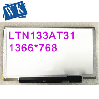Free Shipping! LTN133AT31 HB133WX1-201 N133BGE-E31 B133XTN02.1 Laptop LED Display Screen 1366*768 EDP 30pins