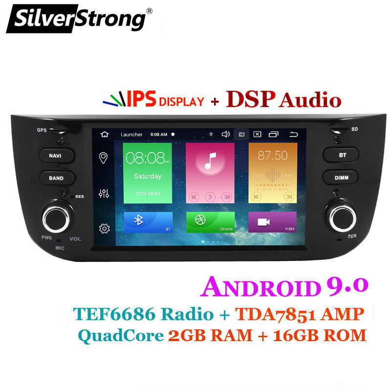 SilverStrong IPS DSP Android9.0 フィアット Punto 199 310/リネア 323 2012 2013 2014 2015 2016